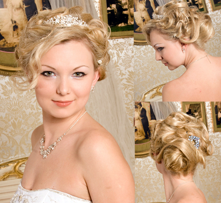 Looks stunning in her wedding hairstyle some more wedding hairstyles