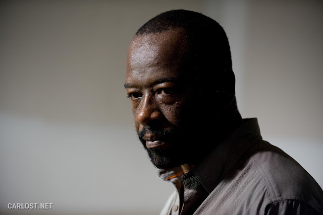 Lennie James como Morgan Jones en The Walking Dead Temporada 6, Capítulo 8
