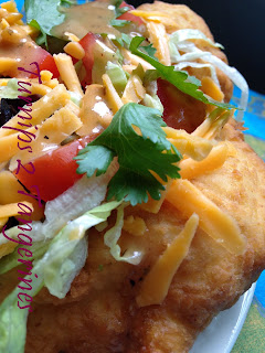 Navajo Frybread--Indian Tacos from Turnips 2 Tangerines