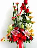 Bunga Rangkaian Meja