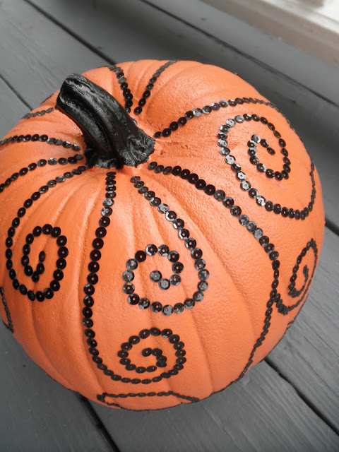 Sew divertimento bling pumpkin with tutorial