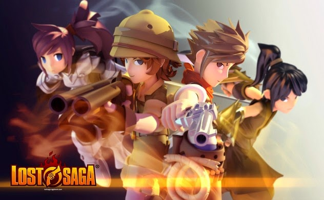 Game Lost Saga Online