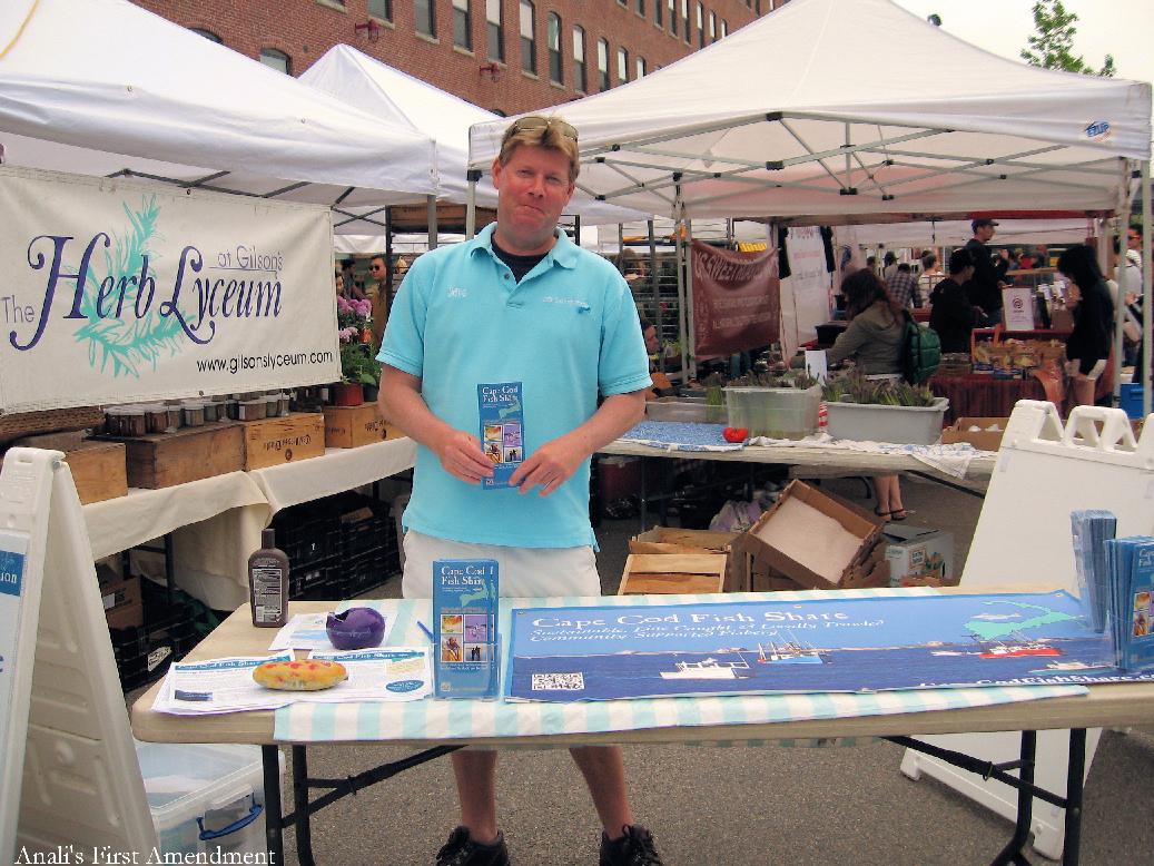 Anali 39 s first amendment sunday in boston sowa market for Cape cod fish market