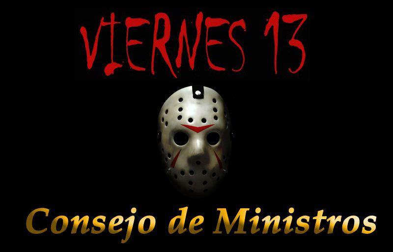 Gatos sindicales viernes y 13 consejo de ministros for Clausula suelo consejo de ministros