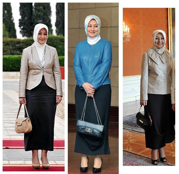 Ibu Negara yang Mengenakan Hijab | Tutorial Hijab