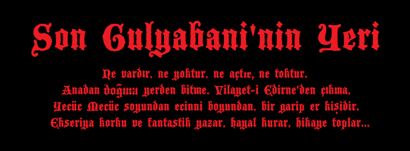 Son Gulyabaninin Yeri