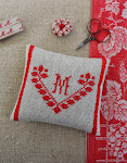 Pincushion monogram