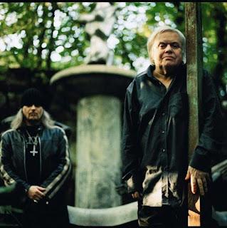 Triptykon vocalist & H. R. Giger (photo: Metal Insider)