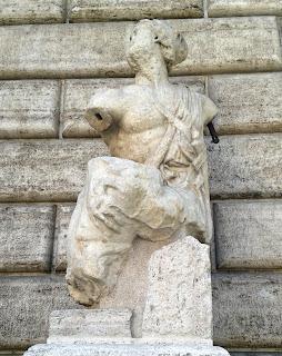 La statua del Pasquino