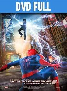 El Sopredente Hombre Araña 2 La Amenaza de Electro DVD Full Latino 2014
