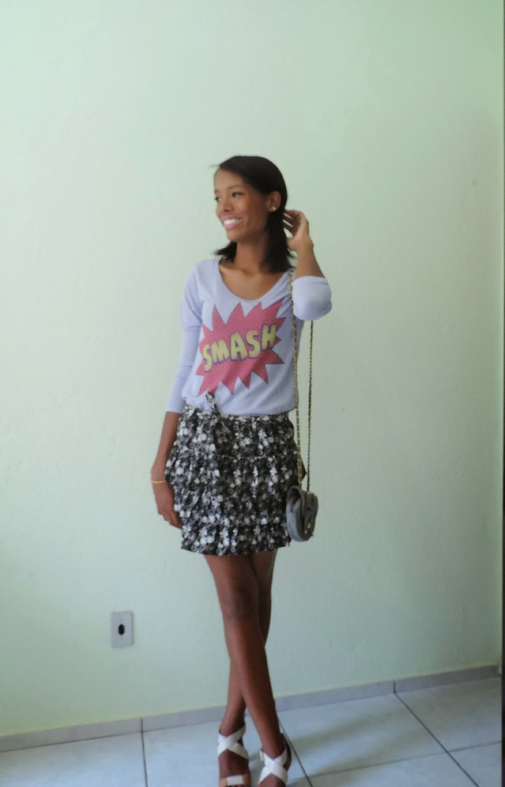 Look do dia: Floral fofo!