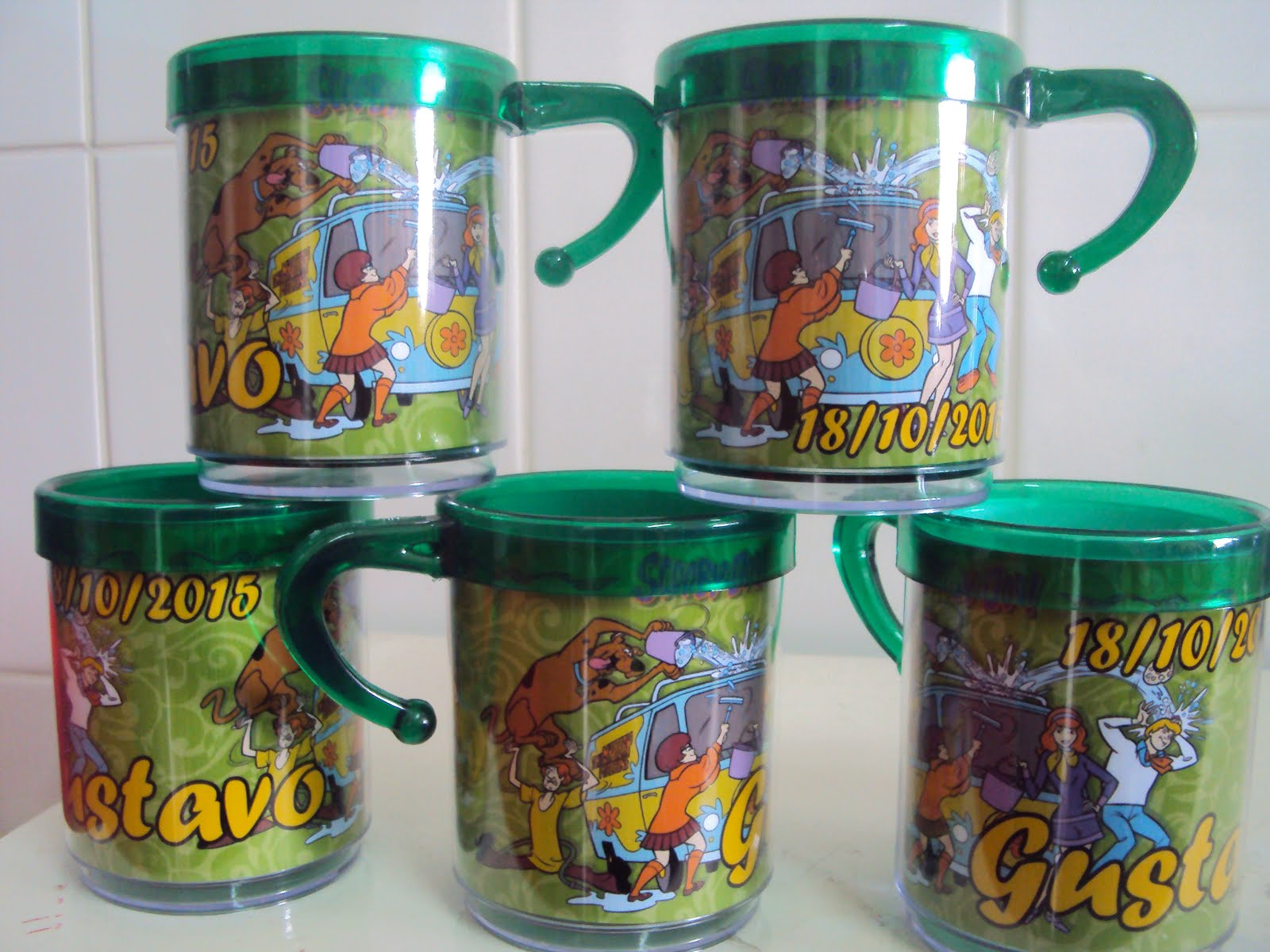 Canecas do Scooby Doo