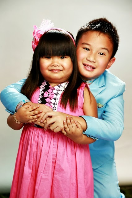 Ryzza Mae Dizon and James Bimby Aquino
