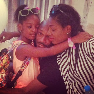 annie idibia america baby delivery