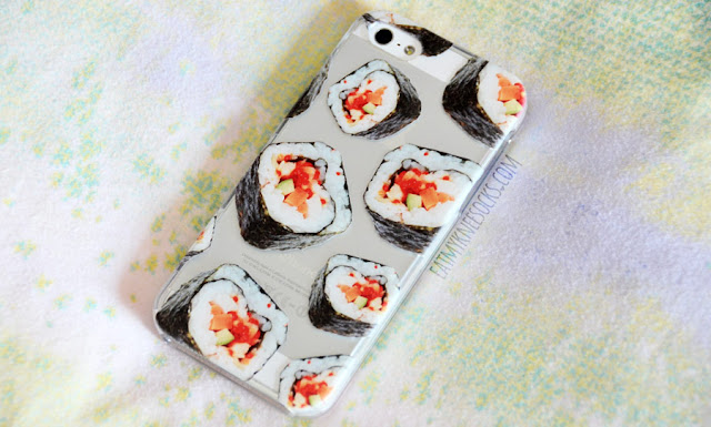 Clash Cases sells tons of unique designs and fun patterns, like their quirky Japanese sushi roll printed phone case.