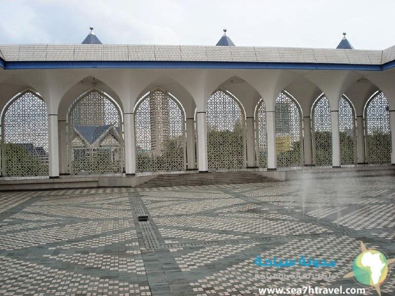 المسجد الازرق فى ماليزية