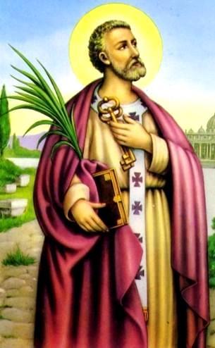 Dibujo de San Pedro, el Apóstol