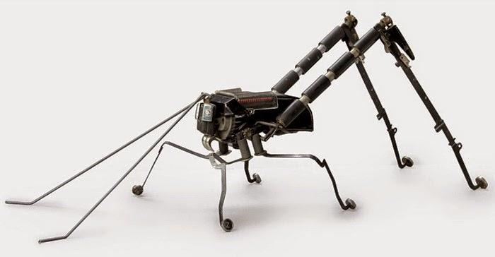 robot dari mesin tik bekas