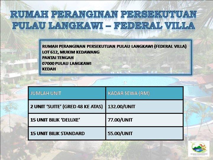 Mr And Mrs Sapic Federal Villa Langkawi