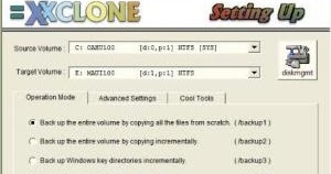 LARSEN: Cara Mudah Cloning Hardisk Dengan XXCLONE
