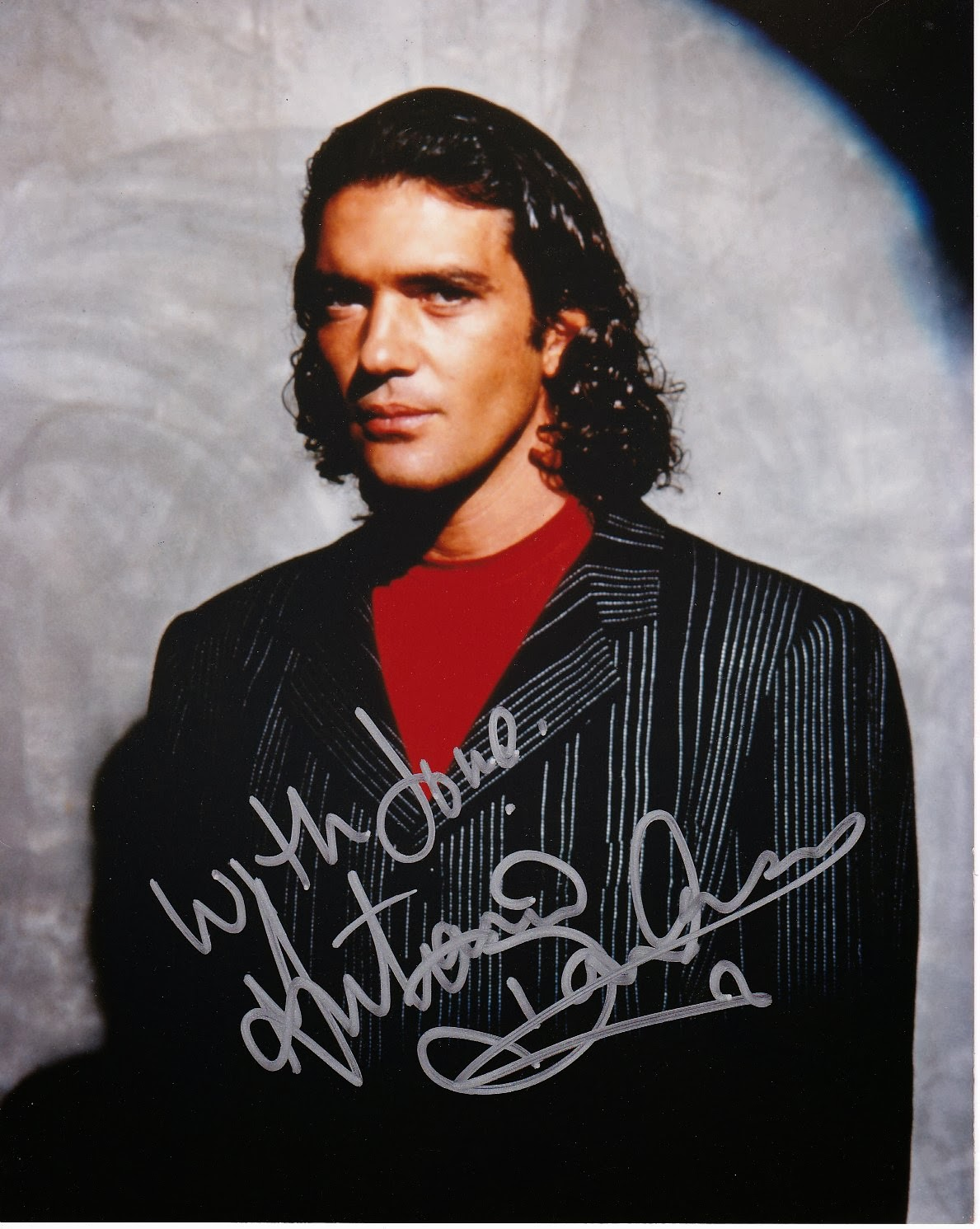 Movie STAR! Antonio Banderas autograph 8x10 photo $35.00
