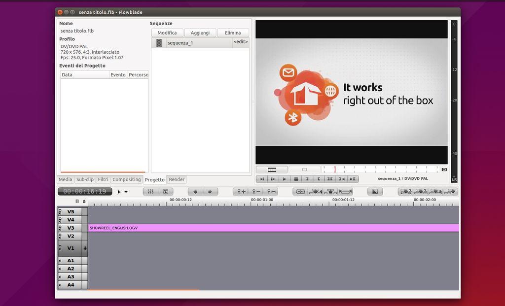 Flowblade in Ubuntu