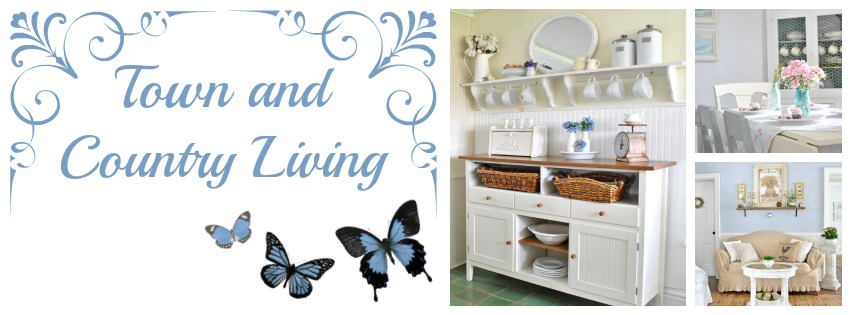 Charming Homes series at Town and Country Living- From My Front Porch To Yours