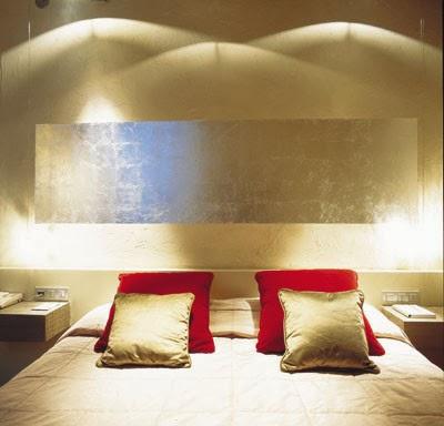 COLORES DE MODA 2014 dormitorio dorado