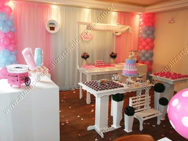 decoracao festa infantil cupcakes