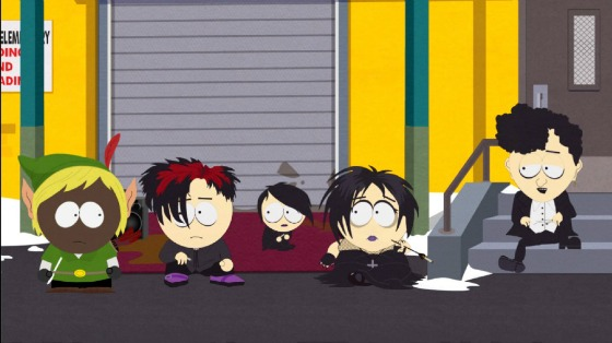 South Park: The Stick of Truth Goths