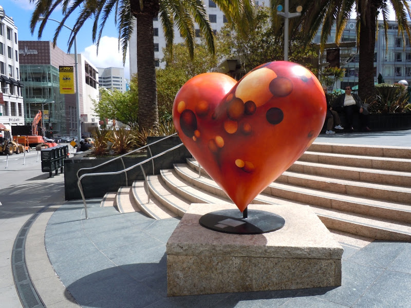 Chosen Ones Heart sculpture Monika Steiner