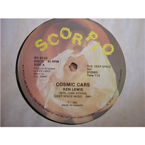 Ken Lewis And D K Gang - Cosmic Cars (Vinyl, 12'' 1982)(Scorpio)