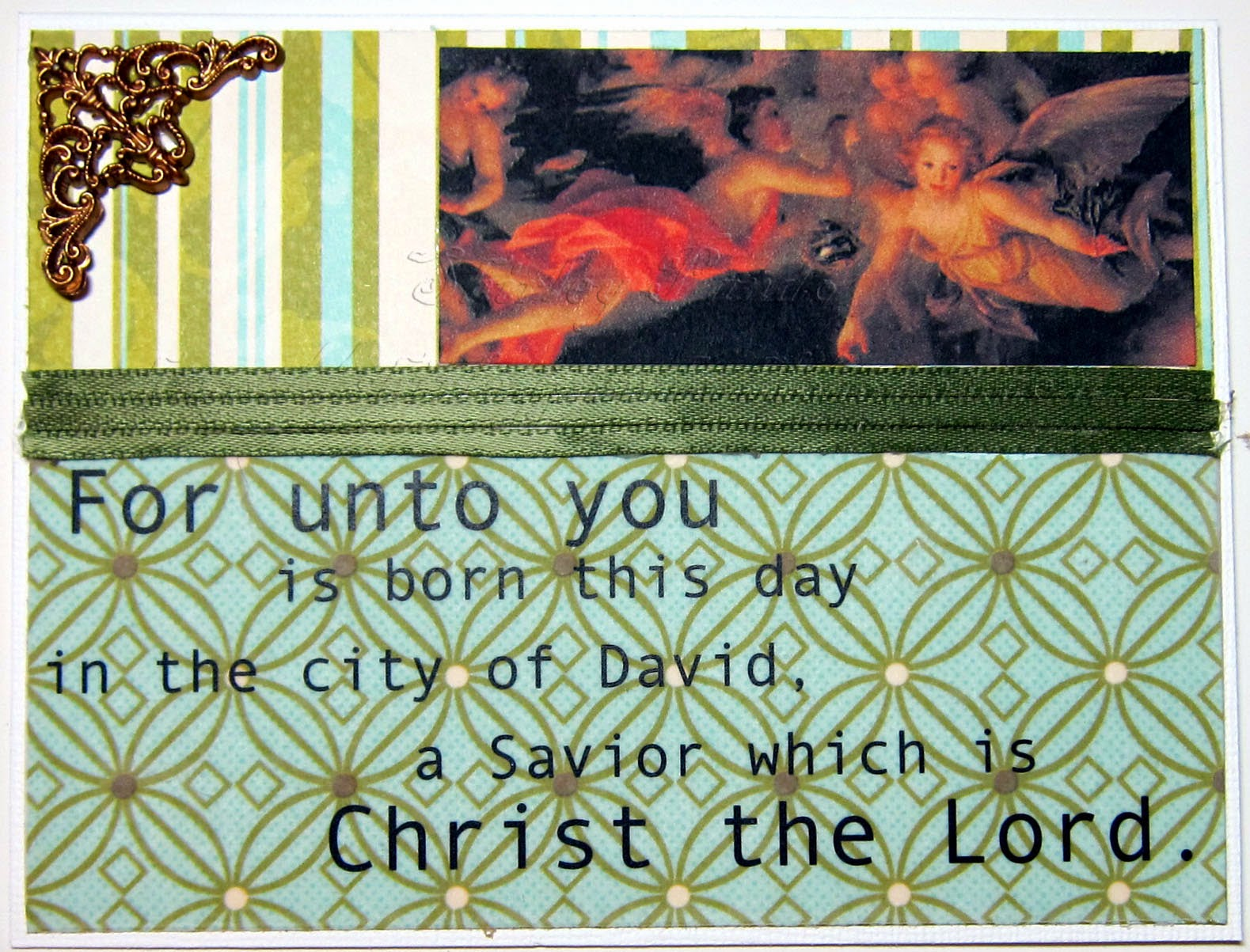 For Unto You Card