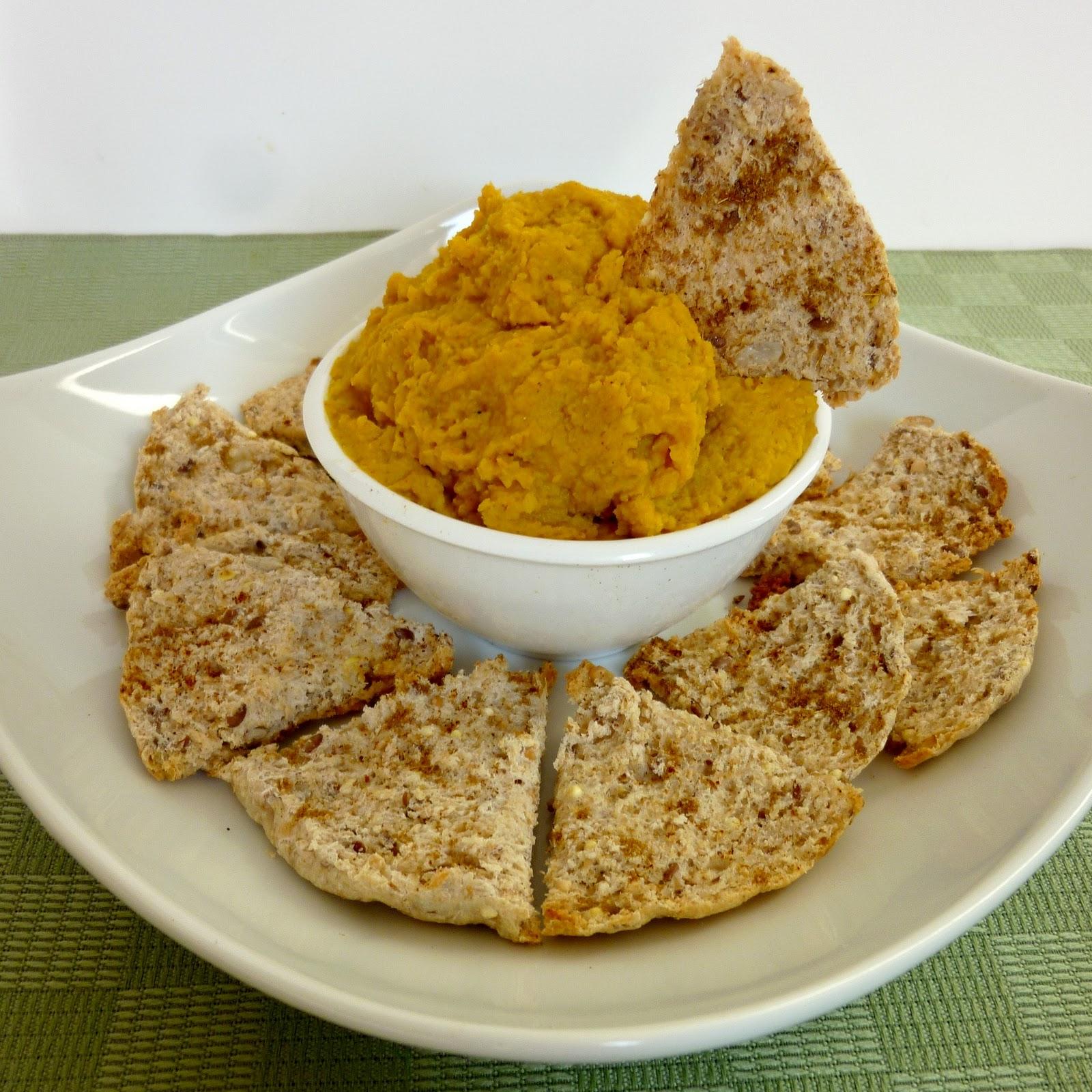 Vanilla & Spice: Mango Curry Hummus
