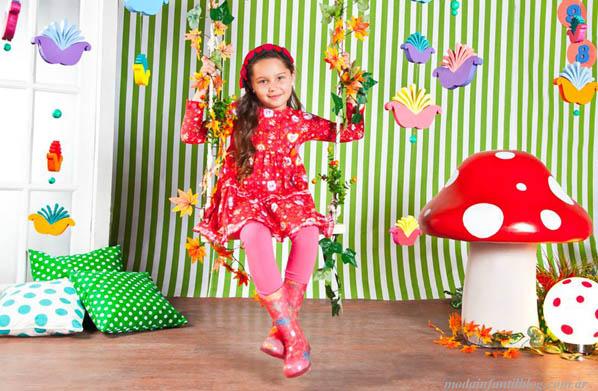 vestidos infantiles otoño invierno 2014
