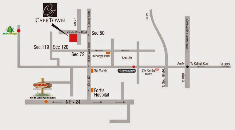 Supertech Capetown Sector 74 Noida