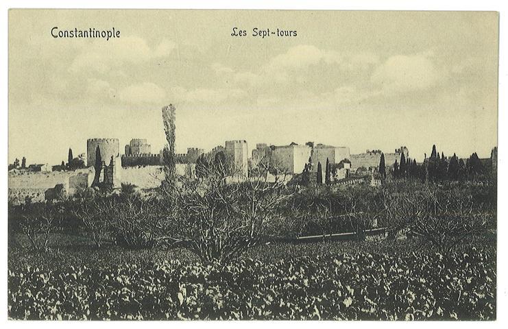 stambouline: The Gardens at Yedikule