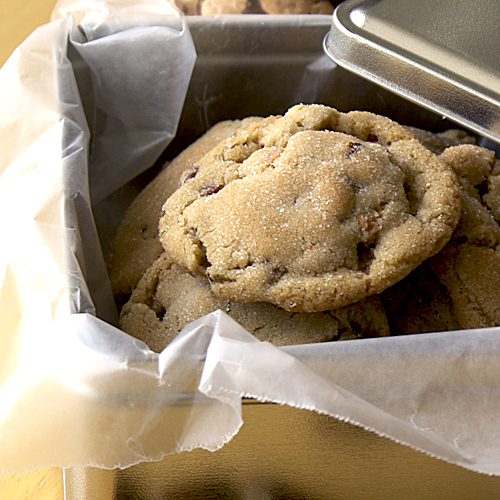 sweet-salty butter pecan cookies