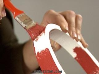 M nica dise os idea para decorar una pared con c rculos - Como secar las paredes despues de la inundacion ...