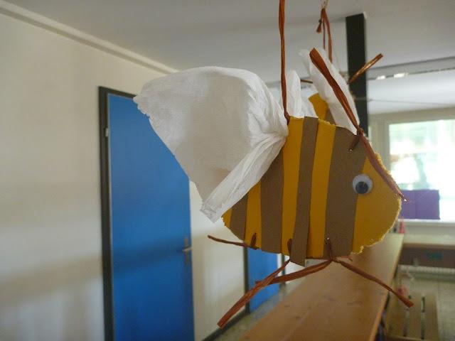 Raumdeko Biene