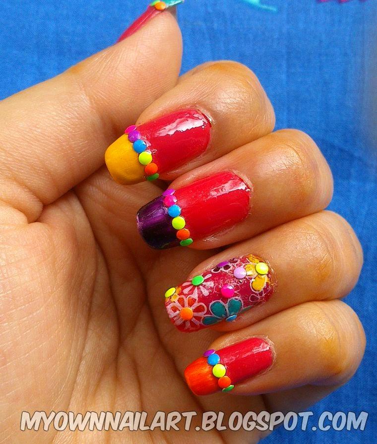 Flower nail Stamping