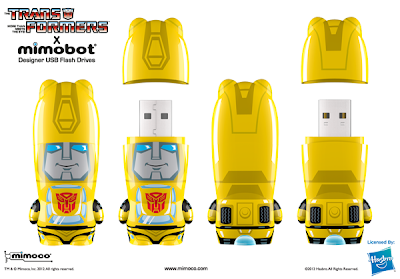 Transformers Mimobot USB Flashdrives by Mimoco - Bumblebee