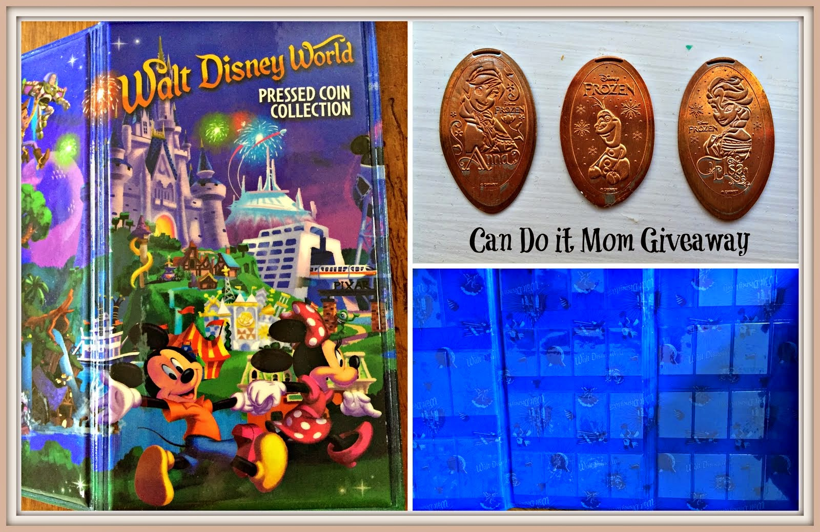 WDW Pressed Coin Giveaway
