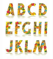 Autumn Alphabet Letters2