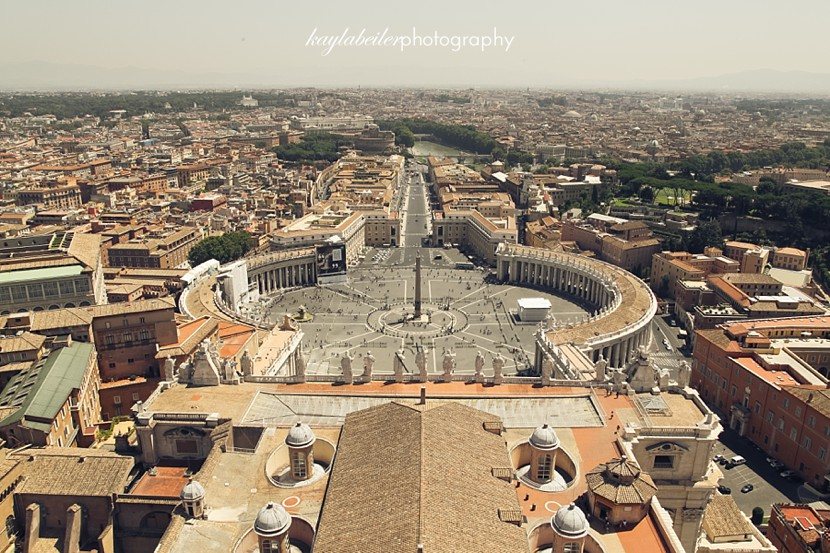 view of vatican city photo