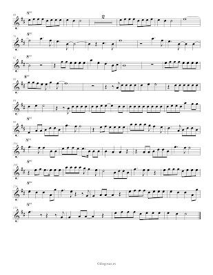 Diegosax Partituras Somebody that I used to know de Gotye Partitura para Flauta, Violín, Oboe, Clarinete, Saxofón Alto,