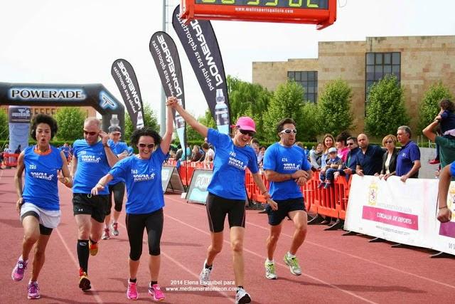 mi primera media maraton