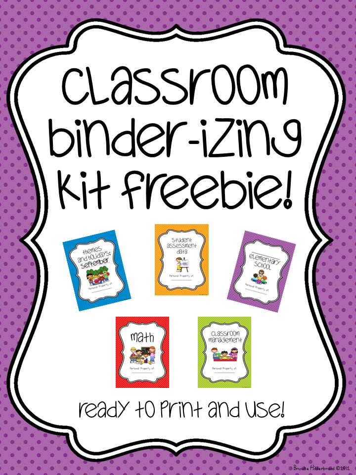 Free Printable Lesson Plan Binder Cover Template | Search Results ...
