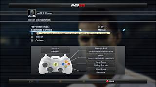 PES 2012 Games Control