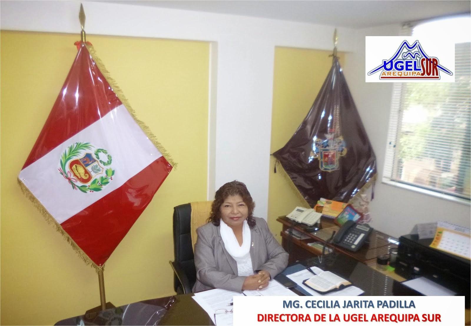 MG. CECILIA JARITA PADILLA